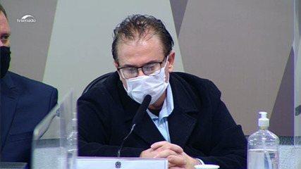 CPI da Covid: representante da Davati diz que foi alertado sobre comissionamento