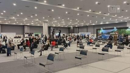 G1 mostra o primeiro evento-teste do Governo do Estado de São Paulo que acontece em Santos