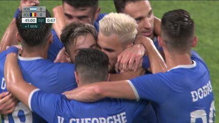 O gol de Honduras 0 x 1 Romênia pelo futebol masculino nas Olimpíadas de Tóquio 2020