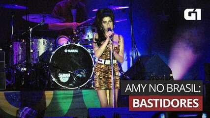 Amy Winehouse: bastidores dos shows no Brasil