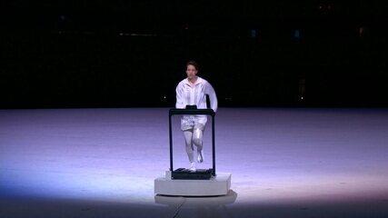 Primeira apresentação da cerimônia de abertura tem representação dos atletas isolados