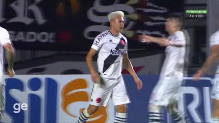 Aos 8 min do 1º tempo - gol de dentro da área de Marquinhos Gabriel do Vasco contra o Guarani