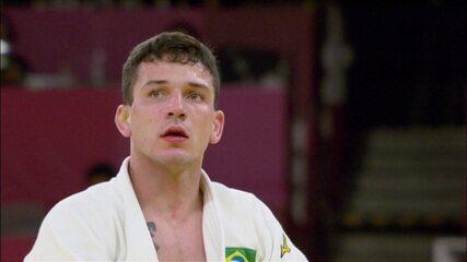 Daniel Cargnin vence atleta do Egito e avança no judô