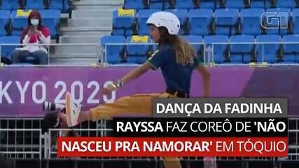 Dança da Fadinha: de onde veio a coreografia que embalou a medalha de Rayssa Leal no skate