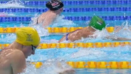 Lydia Jacoby (EUA) leva o ouro nos 100m peito feminino na natação dos Jogos de Tóquio