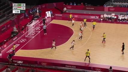 Melhores momentos: Brasil 33 X 27 Hungria pelo handebol feminino
