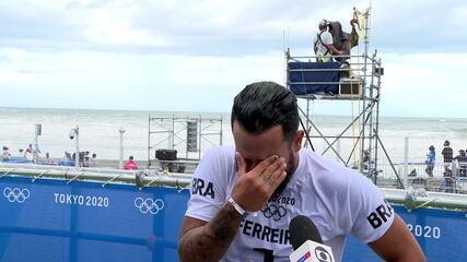 """""""Diz amém que o ouro vem!"""", Italo Ferreira se emociona ao falar da conquista"""
