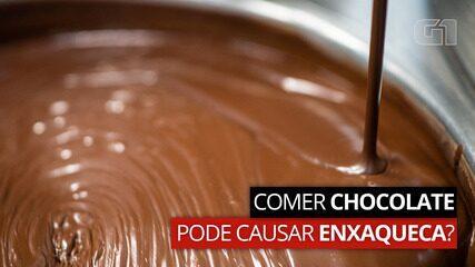 VÍDEO: Comer chocolate pode causar enxaqueca?