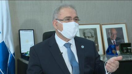 Queiroga fala sobre veto de Bolsonaro a projeto que facilitaria acesso a remédios orais contra o câncer