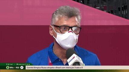 """Renan elogia Comitê Olímpico Russo, mas lamenta desperdício de chances: """"Tivemos contra-ataques que não conseguimos efetivar"""""""