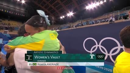 Tóquio 2020: Rebeca Andrade - Ouro no Salto