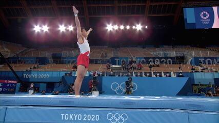 Com a média de 14.783, Shin Jeahwan, da Coreia do Sul, leva o ouro no salto masculino - Olimpíadas de Tóquio