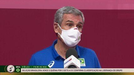 """Zé Roberto comenta sobre o duelo contra as russas nas quartas de final: """"Vai ser um jogo difícil"""""""