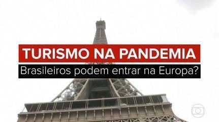 VÍDEO: Veja as regras para entrada de brasileiros na Europa