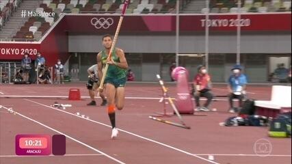 Thiago Braz conquista segunda medalha olímpica no Salto com Vara