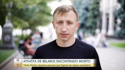 Ativista de Belarus é encontrado morto na Ucrânia