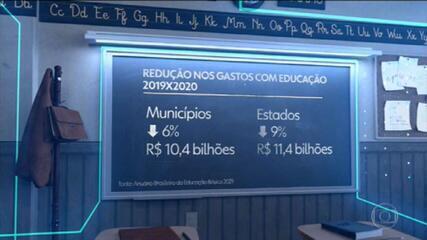 Educação perde R$ 21 bilhões em investimentos na educação, no primeiro ano da pandemia