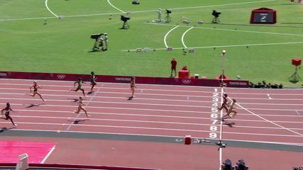 Equipe brasileira termina bateria do 4x100m na quinta posição e fica fora da final do revezamento - Olimpíadas de Tóquio
