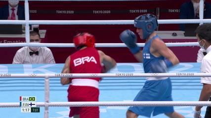 Melhores Momentos da vitória de Bia Ferreira pelo boxe feminino