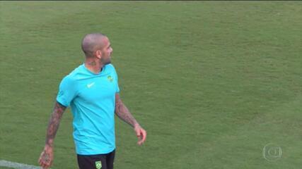 Daniel Alves reencontra a Espanha na disputa pelo ouro