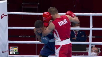 Khyzhniak leva o 1º round na preferência de todos os juízes- Olimpíadas de Tóquio