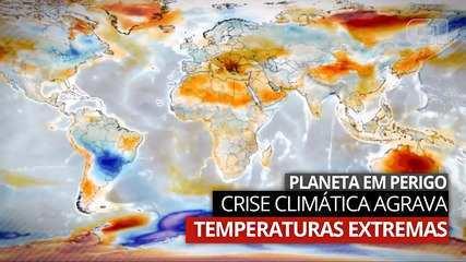 Enchentes, neve e calor extremo: como as mudanças climáticas afetam o planeta