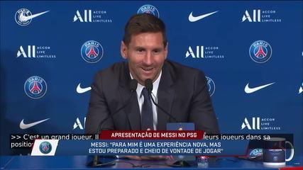 "Messi elogia Verratti: ""É um fenômeno"""
