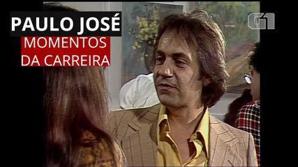 Veja destaques da carreira do ator e diretor Paulo José