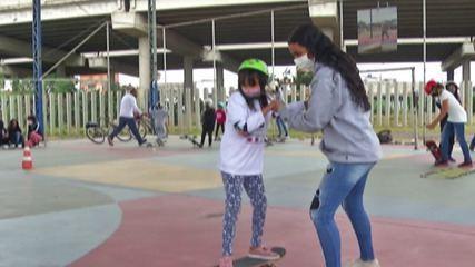 'ONG Social Skate' de Poá recebe indicação de doação da medalhista olímpica Rayssa Leal