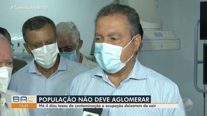 Covid-19: Rui Costa faz alerta para população evitar aglomerações na Bahia