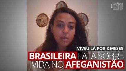 'Ele falou que está só esperando a sorte dele chegar', diz brasileira sobre amigo afegão