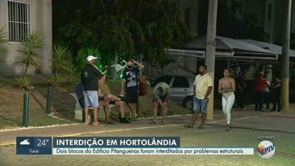 Defesa Civil de Hortolândia interdita prédio devido rachaduras