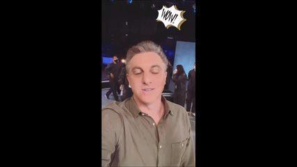 """Luciano Huck faz últimas gravações do """"Caldeirão"""" antes de estreia do """"Domingão"""""""