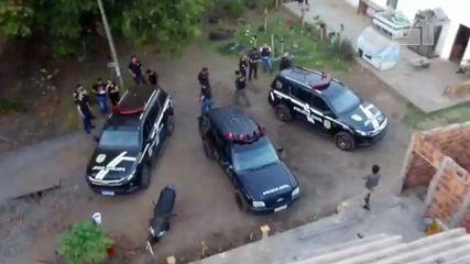 Polícia usa drone e mostra que envolvidos estavam no mesmo núcleo familiar e moravam perto