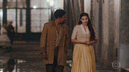 Pilar se desculpa com Samuel