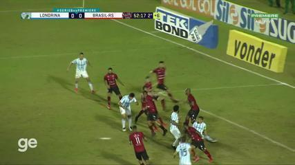 Londrina x Brasil-RS - Melhores Momentos