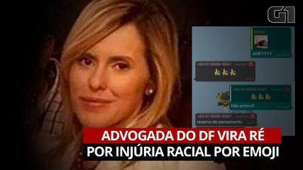 VÍDEO: Advogada vira ré por injúria racial após responder mensagem com emoji de banana