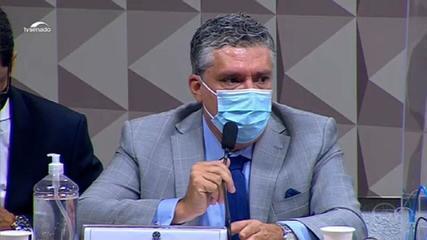 Presidente da CPI da Covid chama empresa fiadora da Covaxin de 'Lorota Bank'