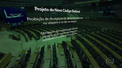Deputados aprovam o pedido de urgência do projeto do novo Código Eleitoral.