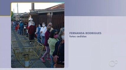 Pacientes enfrentam fila para marcar consulta médica em Campo Limpo Paulista