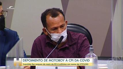 CPI da Covid: motoboy a serviço da VTCLog relata saques de dinheiro e visitas ao Ministério da Saúde