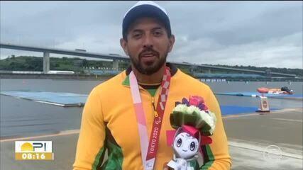 Piauiense Luís Carlos Cardoso é prata na paracanoagem em Tóquio