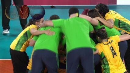 Resumen: Brasil 3 x 1 Canadá, para ganar la medalla de bronce en voleibol femenino - Juegos Paralímpicos de Tokio