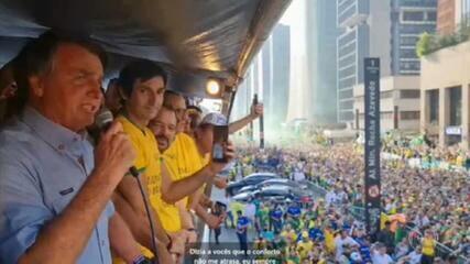 Bolsonaro discursa como se apoiadores de atos antidemocráticos fossem o povo brasileiro