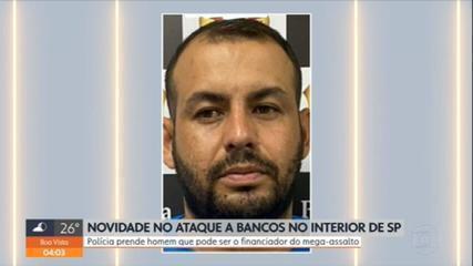 Polícia prende suspeito de financiar ataque a bancos em Araçatuba (SP)