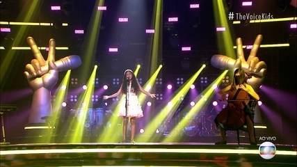 Izabelle Ribeiro canta 'Nunca Pare de Sonhar (Sementes do Amanhã)'