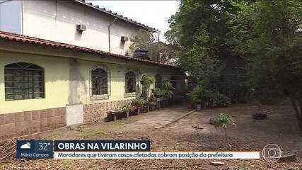 Parte das obras de prevenção a enchentes na Vilarinho está perto do fim