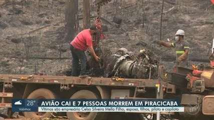 Veja reportagem completa sobre o acidente e as investigações no Jornal da EPTV 2ª Edição
