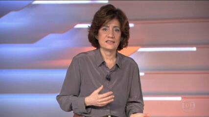 Miriam Leitão sobre projeção do PIB: 'A economia é afetada diretamente pela política'