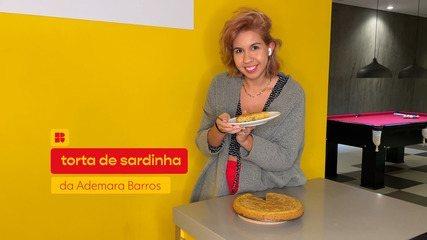 Ademara Barros ensina a fazer torta de sardinha